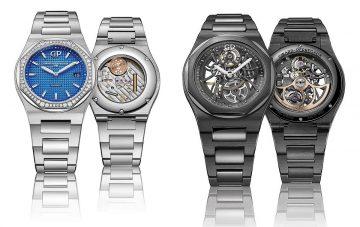 【2018 Pre-SIHH】GP芝柏表 Laureato桂冠系列腕錶延續經典傳奇