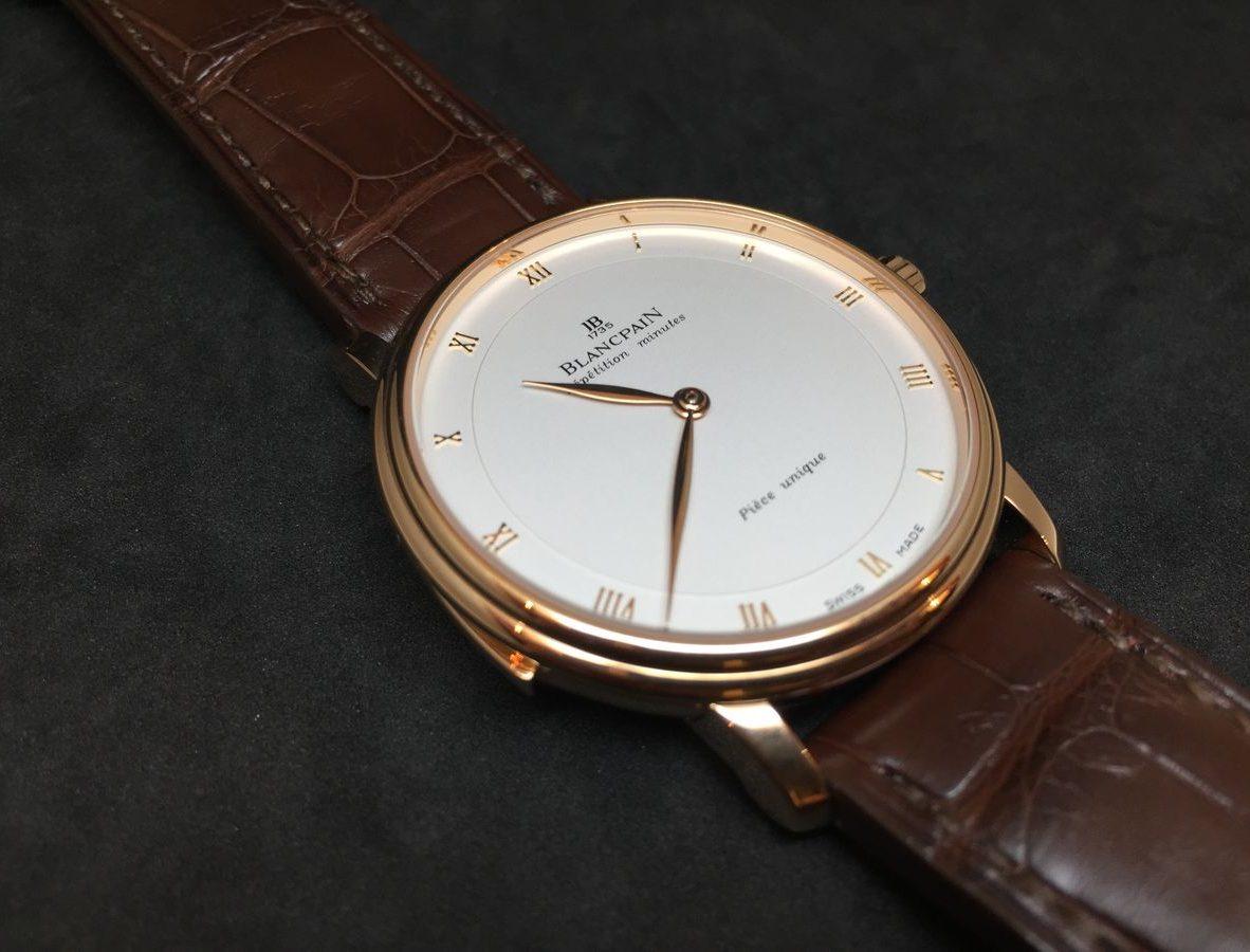 Villeret三問春宮腕錶。
