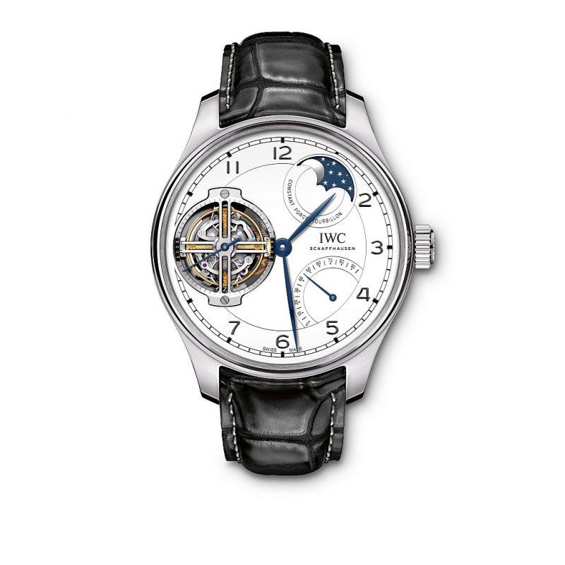 IWC葡萄牙系列恆定動力陀飛輪腕錶「150週年」特別版