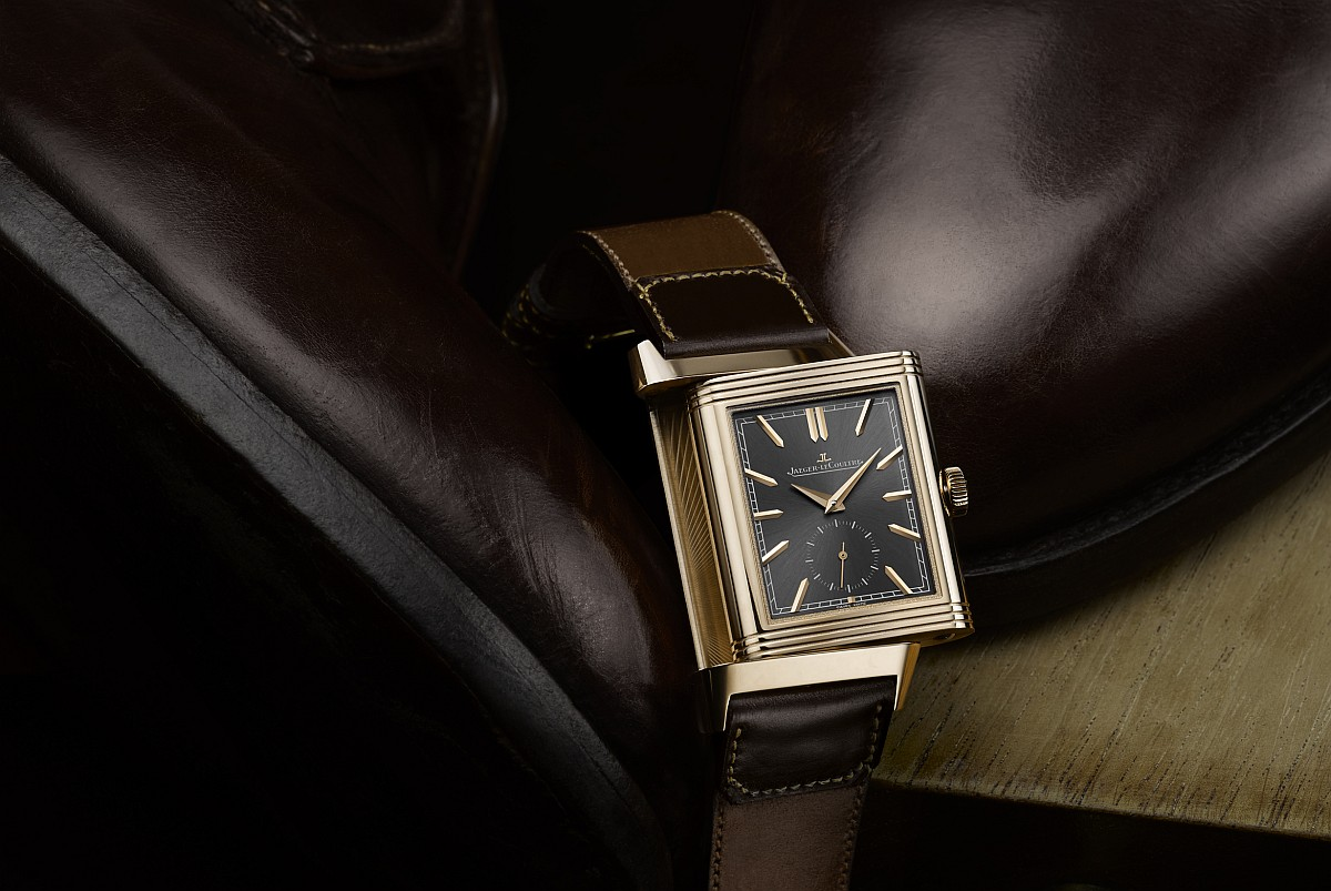 【2018 Pre-SIHH】彰顯頂級工藝之合作:積家Reverso Tribute Duo雙時區翻轉系列腕錶限量版,搭配Casa Fagliano錶帶