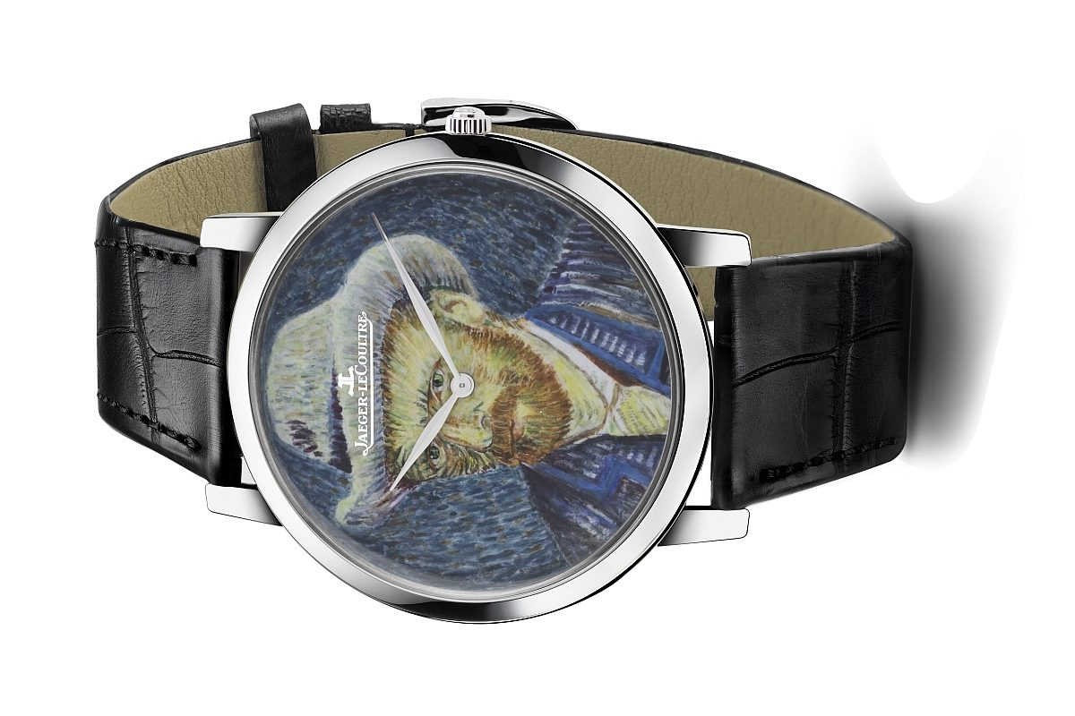 相約藝術饗宴:Jaeger-LeCoultre Master Ultra Thin《戴灰氈帽的自畫像》超薄大師系列腕錶