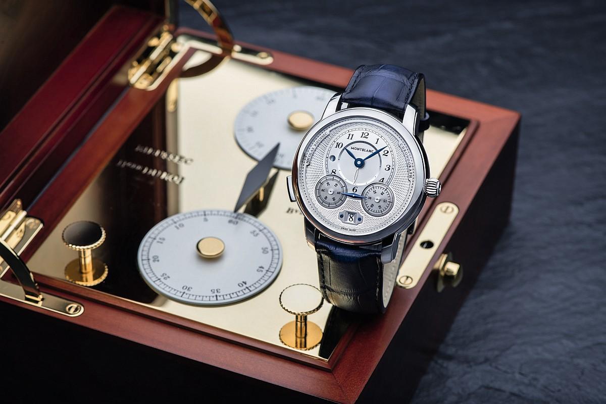 【2018 PreSIHH】萬寶龍全新計時腕錶Star Legacy系列計時自動腕錶與Nicolas Rieussec計時腕錶