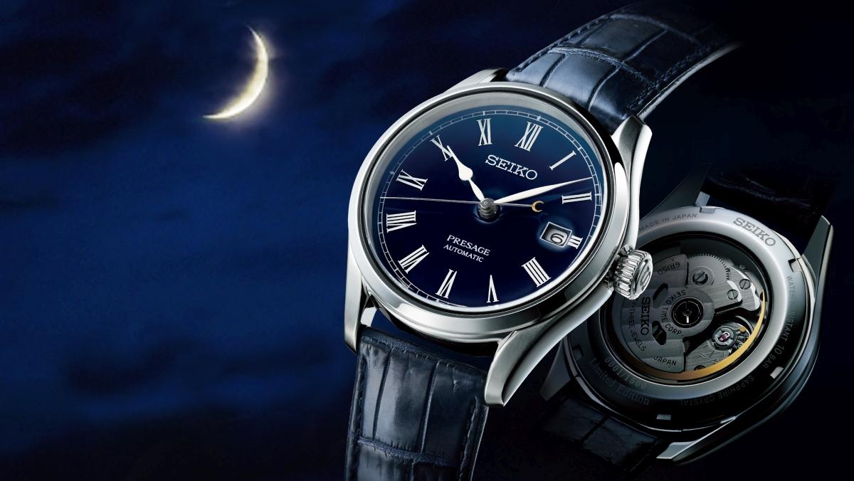 月見傳統與琺瑯美學的經典傳承:Seiko Presage冬季錶款限量上市