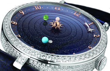 【2018 Pre-SIHH】Van Cleef & Arpels梵克雅寶撰寫嶄新時間詩篇:Midnight Planétarium™女性腕錶