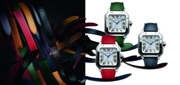 【 SIHH 2018錶展直擊 】卡地亞Santos de Cartier 錶帶玩花招