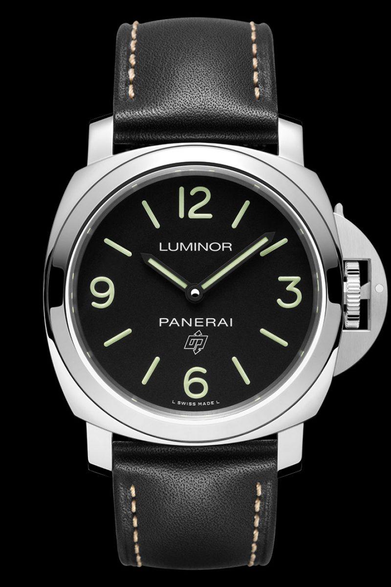 Luminor Base Logo 3 Days Acciaio–44毫米3日動力儲存精鋼腕錶,PAM00773
