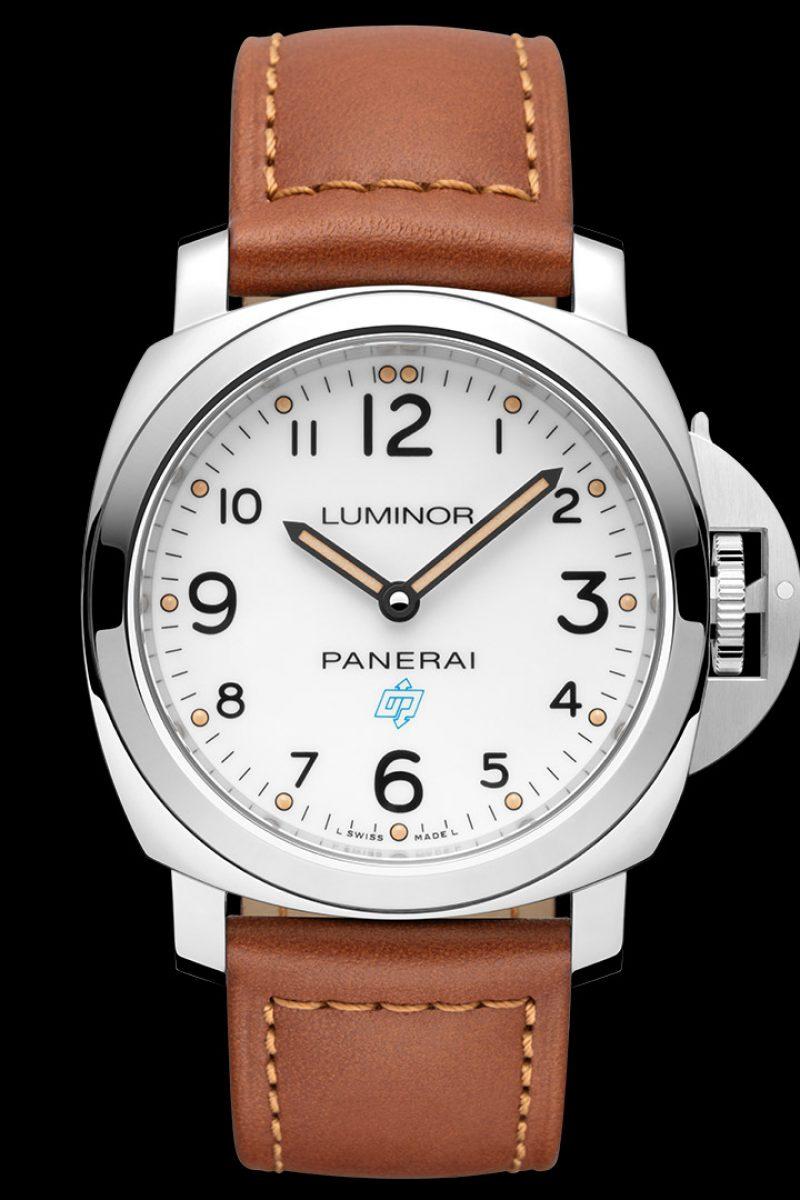 Luminor Base Logo 3 Days Acciaio–44毫米3日動力儲存精鋼腕錶,PAM00775
