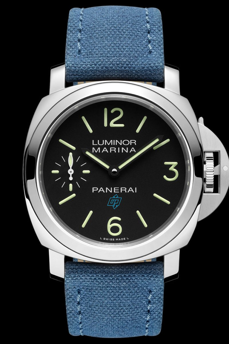 Luminor Marina Logo 3 Days Acciaio–44毫米3日動力儲存精鋼腕錶,PAM00777