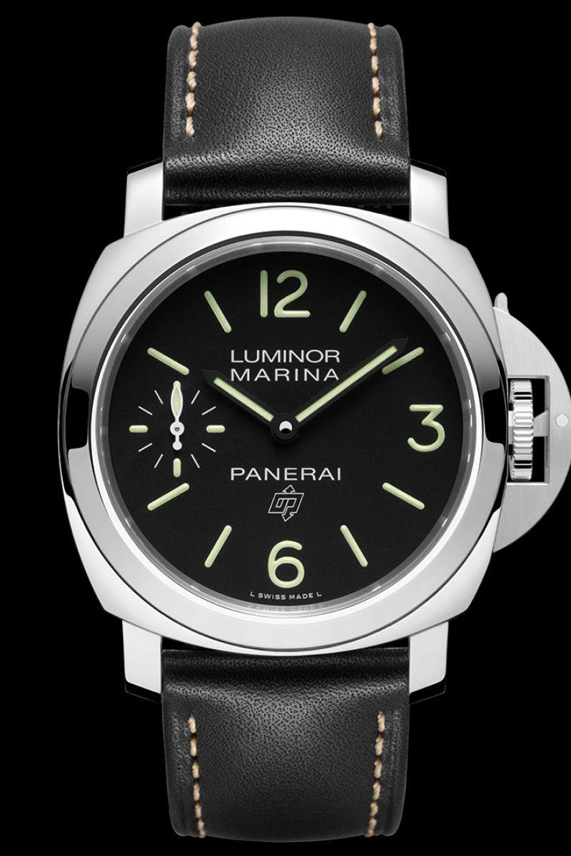 Luminor Marina Logo 3 Days Acciaio–44毫米3日動力儲存精鋼腕錶,PAM00776