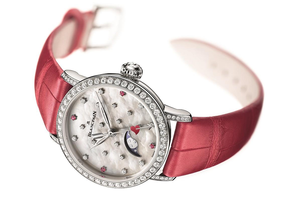 愛的詠歌:寶鉑Villeret Valentine's Day 2018情人節錶款