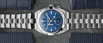 旅行,求輕裝多變:江詩丹頓Overseas兩地時間腕錶