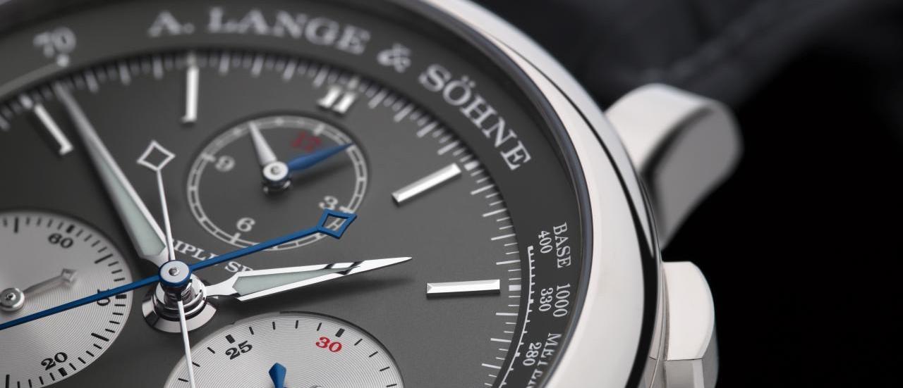 【SIHH 2018錶展報導】時、分、秒三重追針!朗格Triple Split腕錶