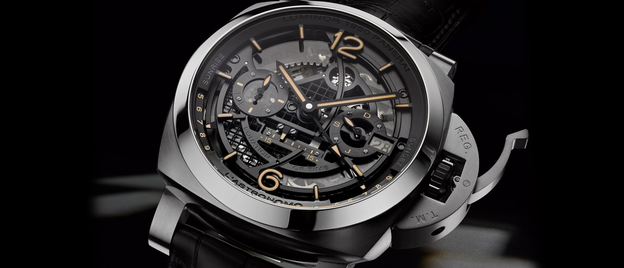 【2018 SIHH報導】沛納海Astronomo Luminor 1950陀飛輪月相時間等式兩地時間腕錶