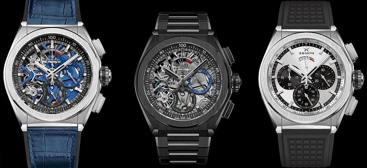 【2018 LVMH Geneva Days】ZENITH Defy El Primero 21腕錶推出六種全新搭配款式