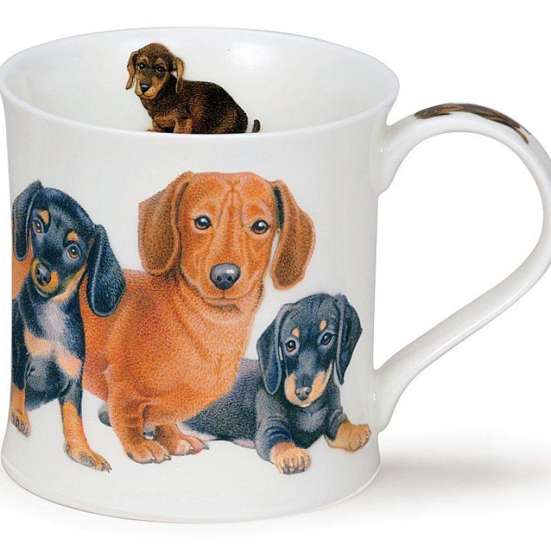 Dunoon狗狗馬克杯(臘腸犬),特價NT828