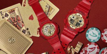 CASIO G-SHOCK與BABY-G推出2018新春限定對錶