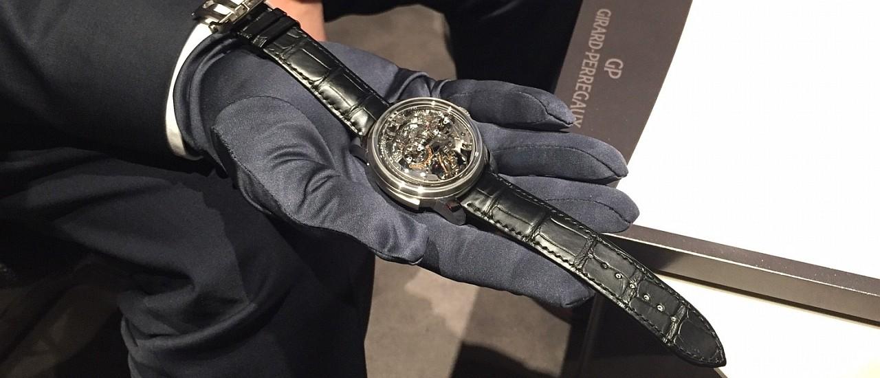 【2018 SIHH錶展報導】芝柏三問報時三軸陀飛輪腕錶