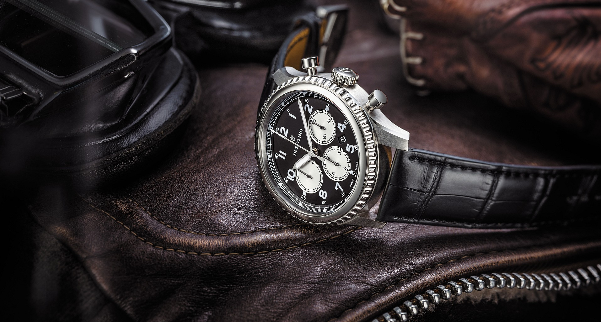 【2018 BASEL錶展報導】百年靈NAVITIMER 8航空計時腕錶系列