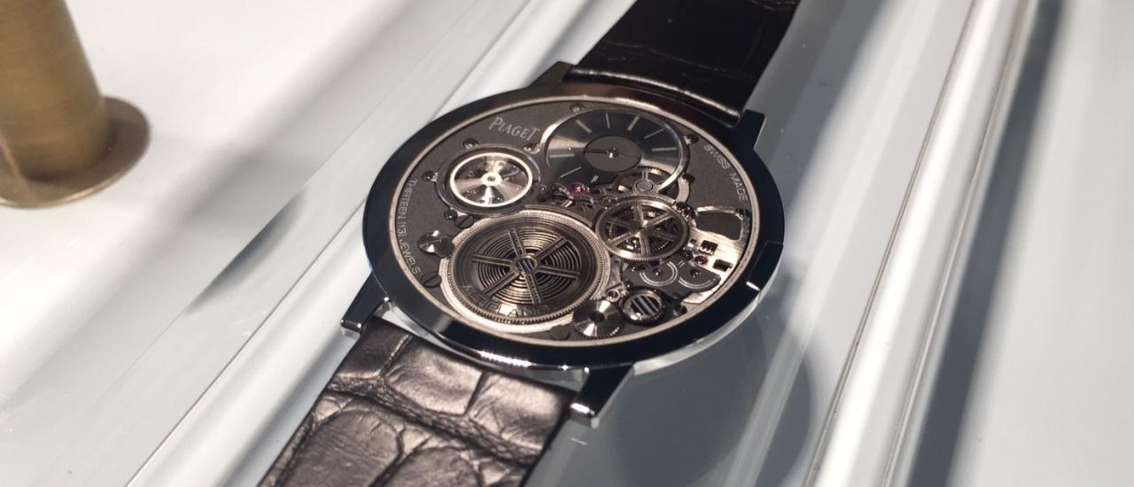 【2018 SIHH錶展報導】Piaget Altiplano Ultimate Concept終極概念腕錶