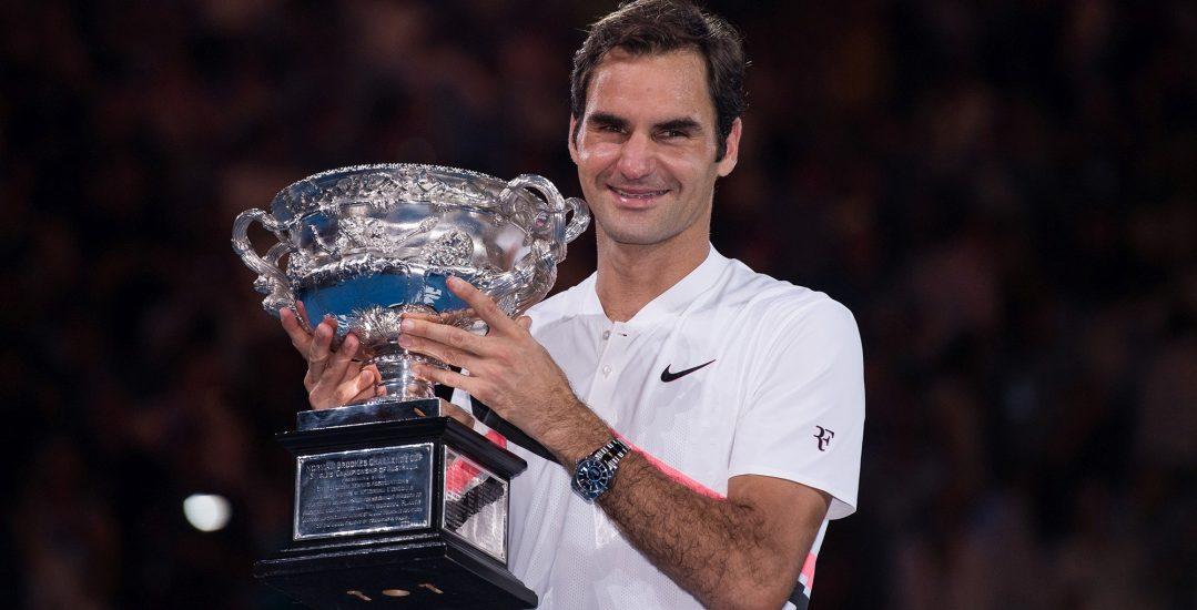 勞力士代言人羅傑.費德勒 (Roger Federer)與卡洛琳·瓦芝妮雅琪 (Caroline Wozniacki)分別勇奪2018澳網公開賽男、女單打冠軍之殊榮。