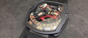 【2018 SIHH報導】UR-210 Black Platinum黑鉑金腕錶