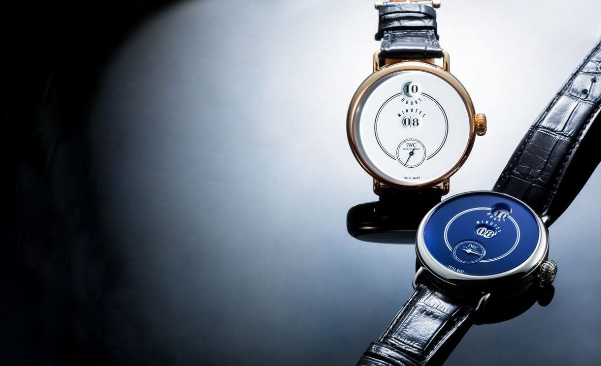 IWC「致敬波威柏」150週年紀念版腕錶,取自1885年推出的Pallweber懷錶,跳時、跳分機制有別與以往六大系列中的任何錶款。