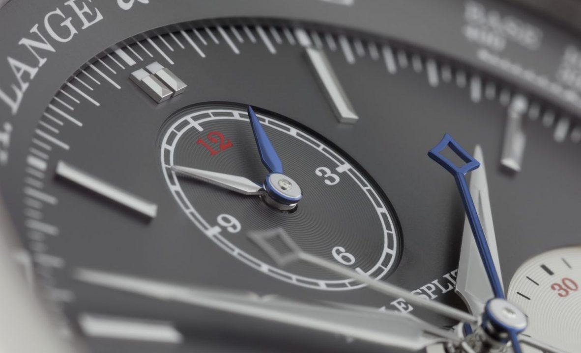朗格的Triple Split是目前唯一具備三重追針的計時碼錶。