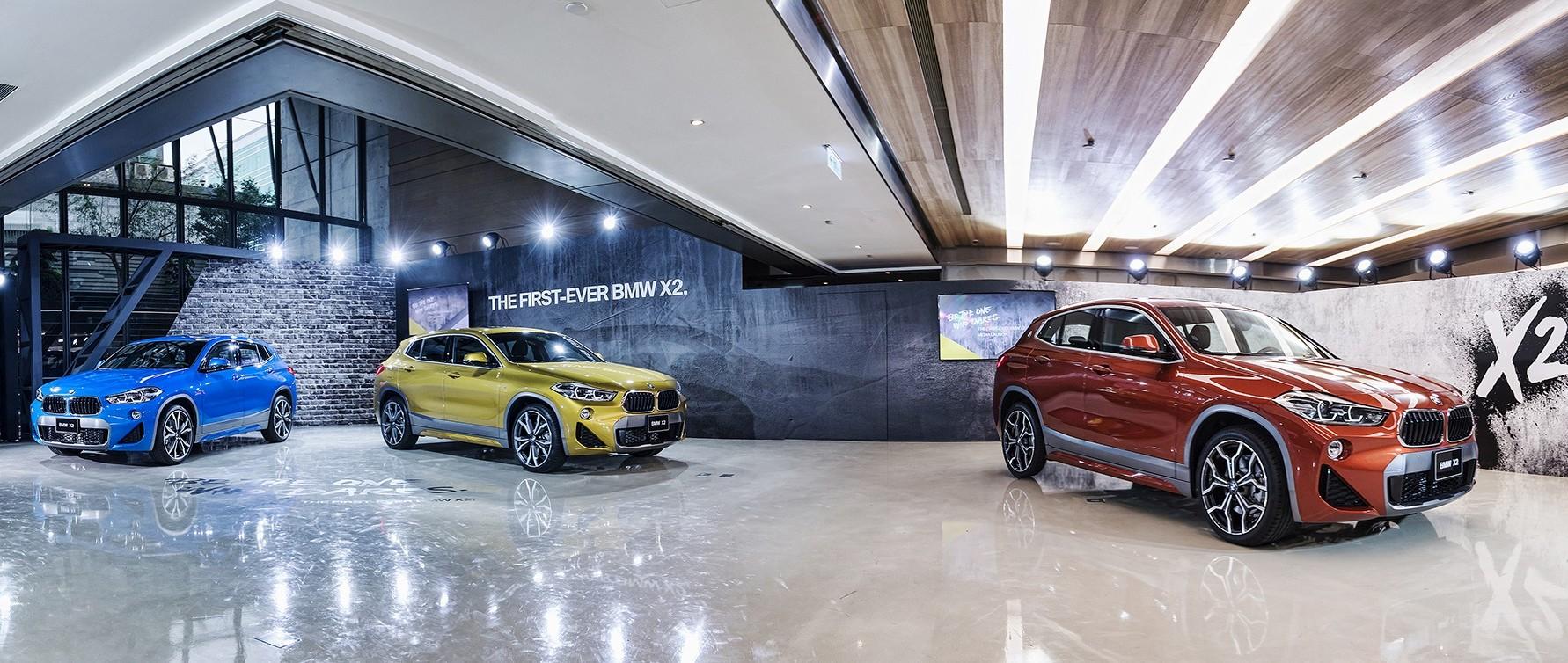 大逆之道:BMW全新首創X2豪華跨界跑旅 放膽問世