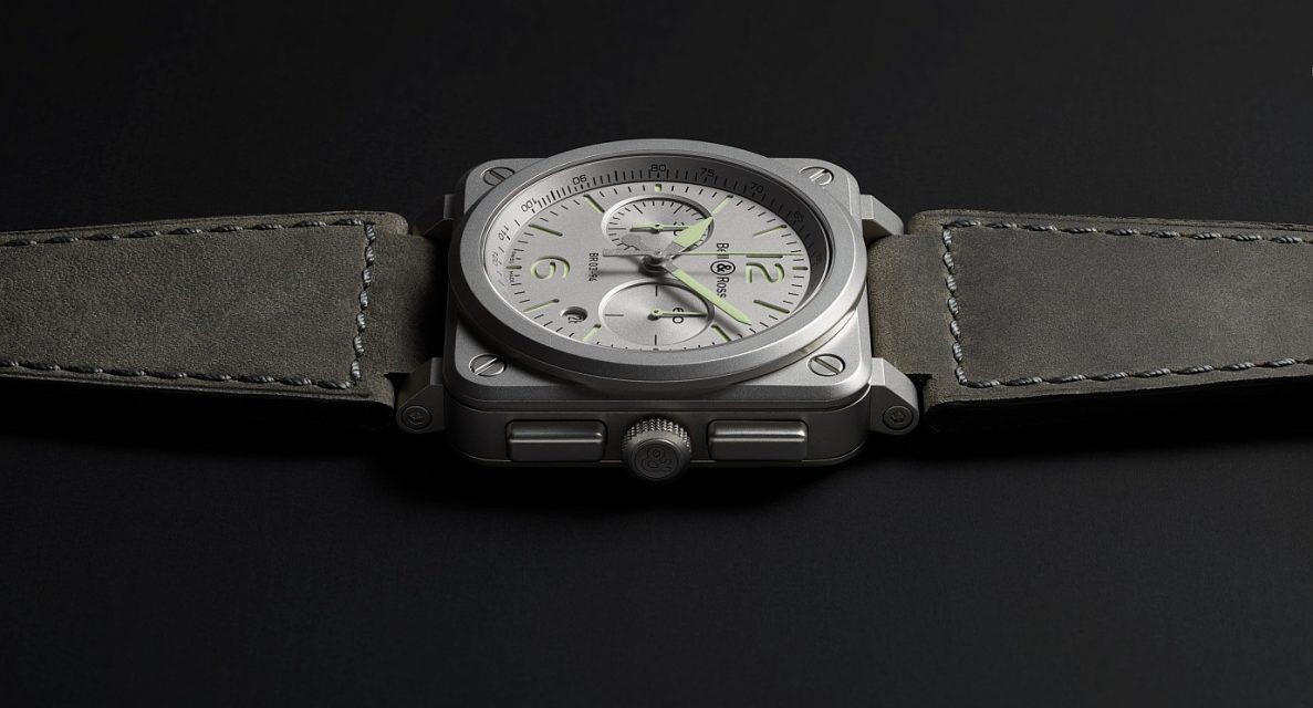 【2018 巴塞爾錶展】Bell & Ross BR 03-94 Horolum 計時錶及BR 03-92 Horoblack三針日曆錶