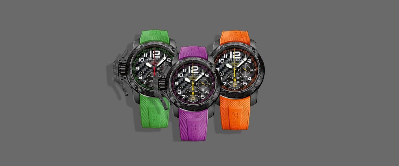 【2018巴塞爾錶展預報】卓越本色:Graham Chronofighter Superlight Carbon腕錶