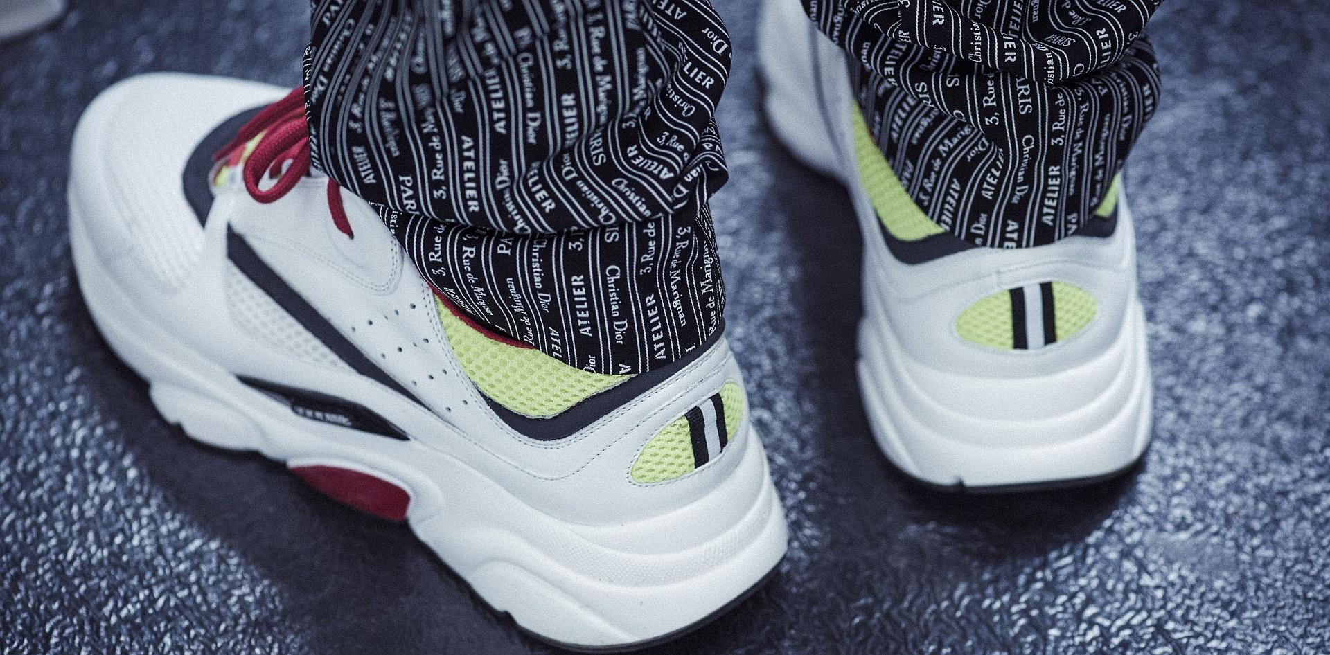 菁英運動主義:Dior Homme B22 運動鞋
