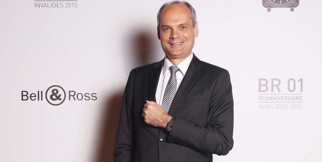 突破極限 創意無限:Bell & Ross總經理Fabien de Nonancourt