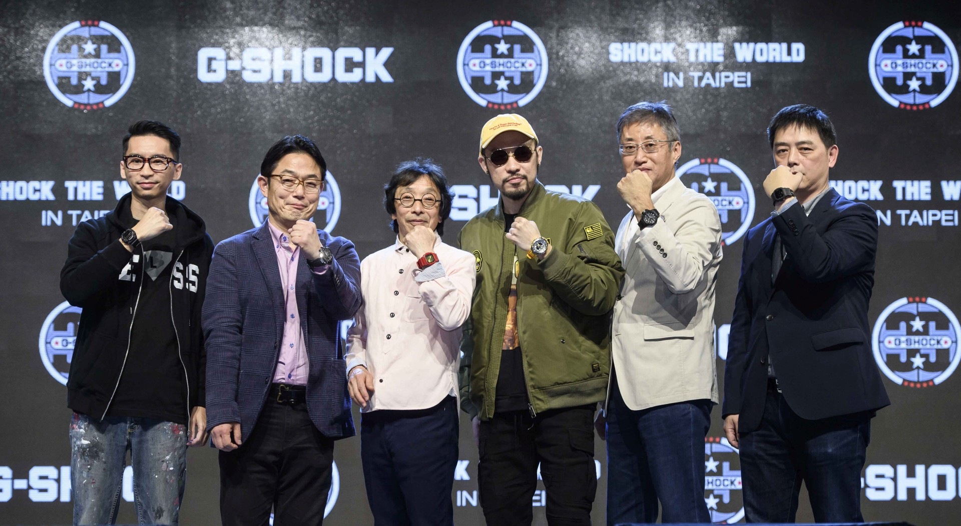 G-SHOCK三十五周年慶,SHOCK THE WORLD IN TAIPEI嗨翻全場