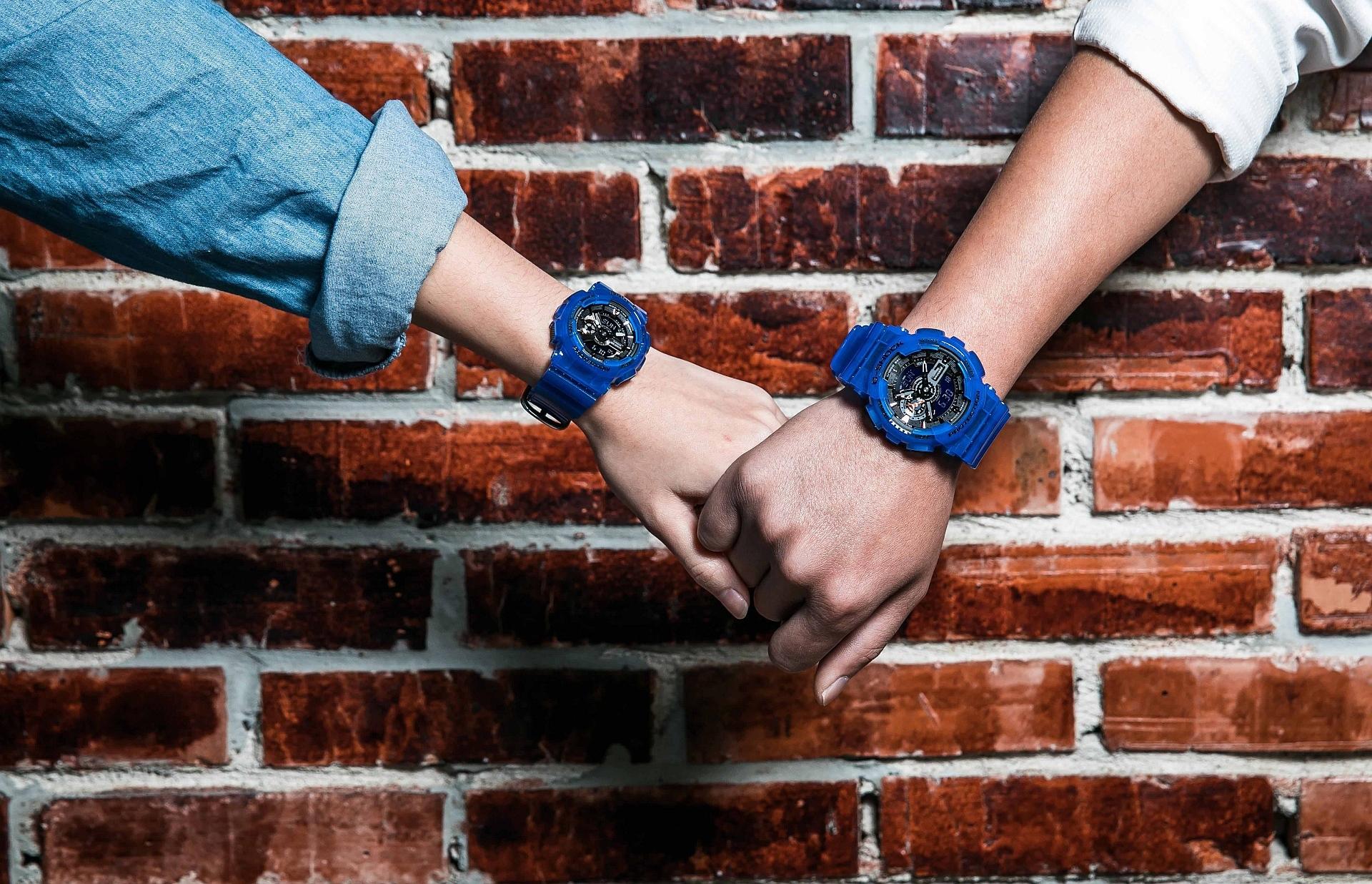 以「CORAL REEF COLOR」為主題的海洋生態設計風格:G-SHOCK & BABY-G 2018透明感情侶對錶