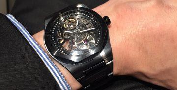 芝柏表Laureato Skeleton桂冠系列鏤空陶瓷腕錶