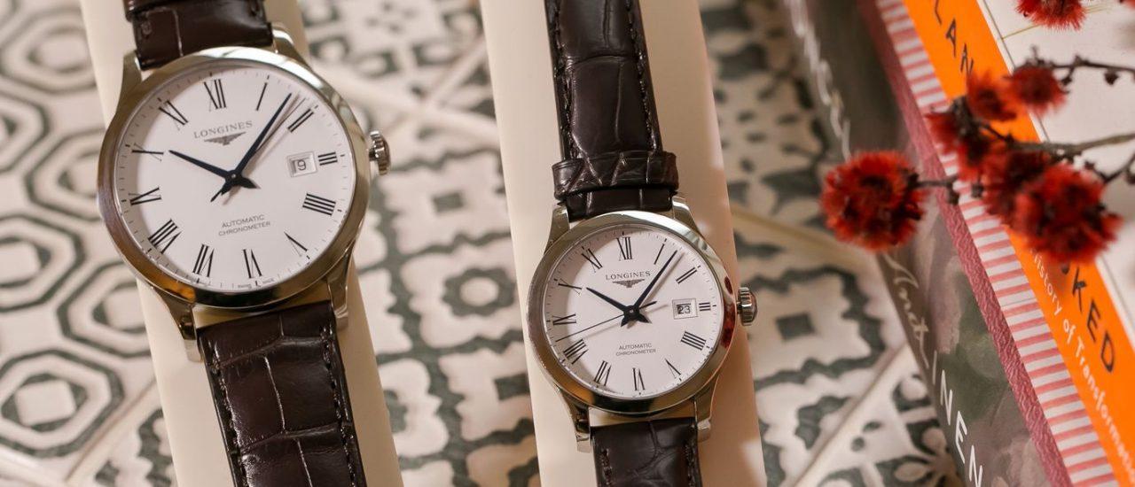 情人節來一對錶?Longines Record開創者系列腕錶