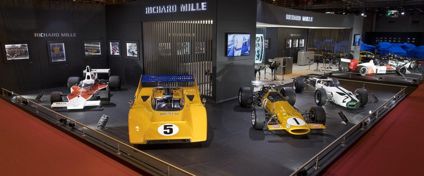 RICHARD MILLE攜手McLaren於RÉTROMOBILE 2018巴黎古董車展呈現精彩展覽
