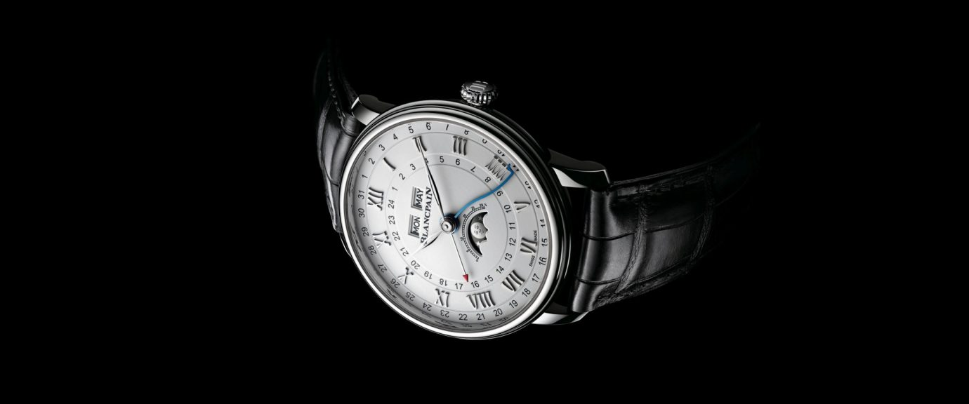 【2018巴塞爾錶展預報】寶珀Villeret系列Quantième Complet GMT兩地時間全日曆腕錶