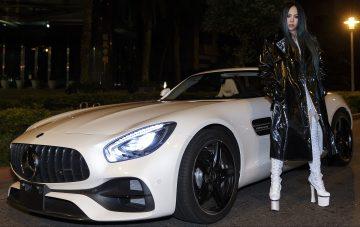 AMG GT 大軍狂野聲援華語樂壇天后 aMEI