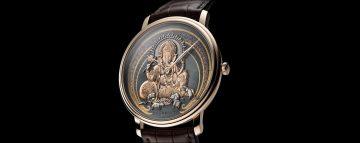 寶鉑藝術大師系列赤銅金雕腕錶「象神」錶款首度來台,101旗艦店恭候鑑賞