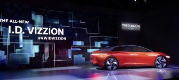 《2018日內瓦車展》純電自動駕駛 Volkswagen 續寫I.D. VIZZION概念車