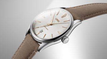 【Baselworld 2018錶展報導】革新未來:Oris Artelier系列天文台日期錶與大視窗月相日期鑽錶搭配永續皮革錶帶