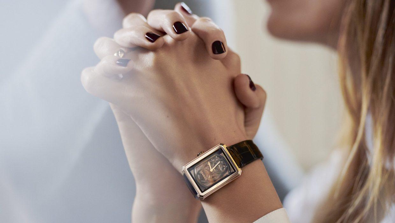 【Baselworld 2018錶展報導】CHANEL BOY∙FRIEND鏤空腕錶