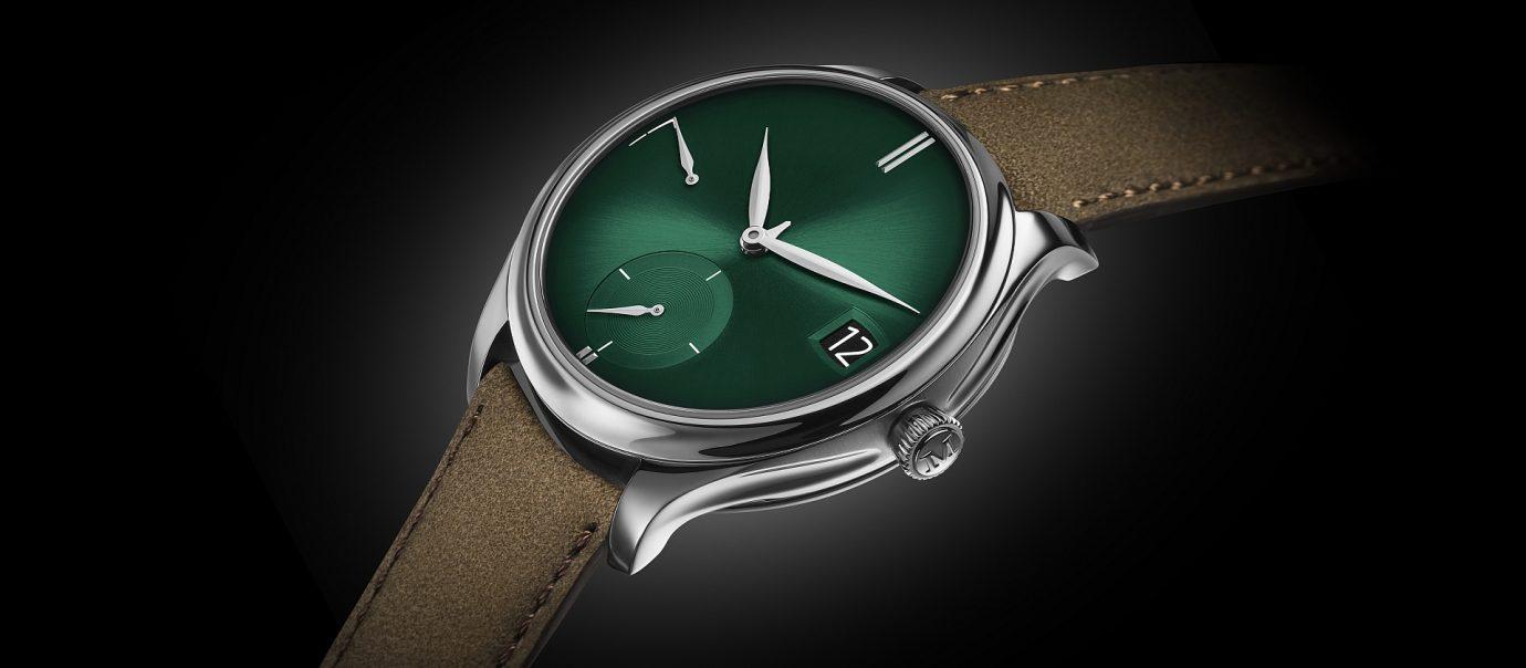 【2018巴塞爾錶展預報】亨利慕時Endeavour Perpetual Calendar Purity Cosmic Green勇創者萬年曆宇宙綠腕錶