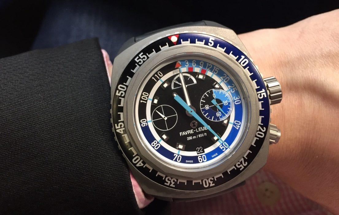 【Baselworld 2018錶展直擊】極致精密,望塵莫及 :Favre-Leuba Raider Bathy 120 MemoDepth腕錶