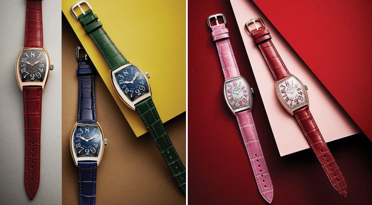 FRANCK MULLER 慶祝「CRAZY HOURS」面世15周年,推出亞洲特別版腕錶