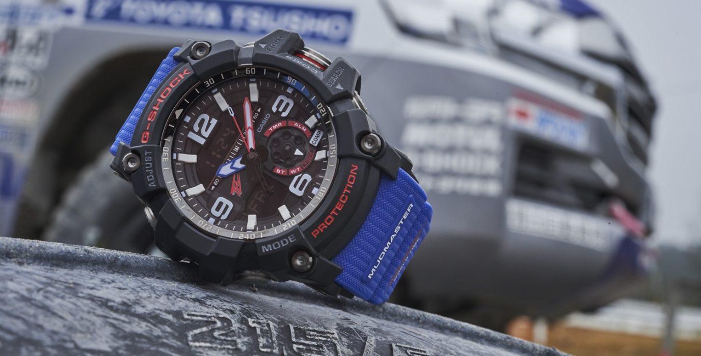 G-SHOCK攜手日本汽車品牌TOYOTA推出限量聯名錶款GG-1000TLC