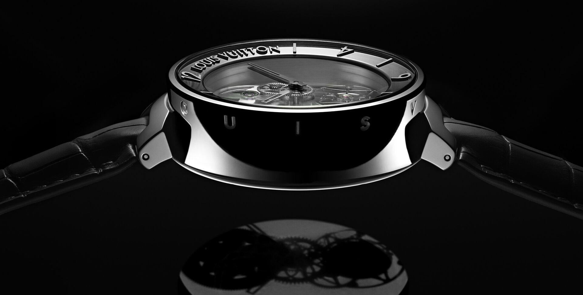 路易威登推出全新Tambour Moon Mysterieuse Flying Tourbillon飛行陀飛輪腕錶