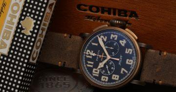 【Baselworld 2018錶展報導】重砲出撃:Zenith和Cohiba合作推出Pilot Type 20特别錶款