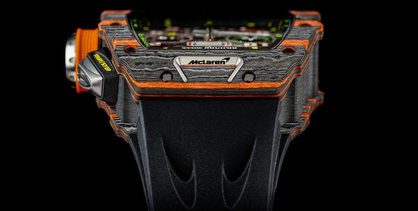 飛奔馳、創雙贏:RICHARD MILLE RM 11-03 McLaren 自動飛返計時碼錶